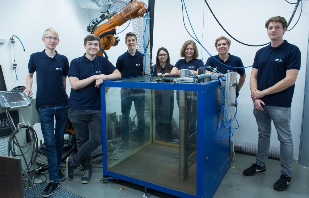 Freiwilliges Wissenschaftliches Jahr im Lasernzentrum Hannover.