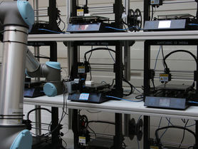 Automated 3D printing for highly individual production