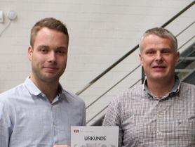 Christian Lamping gewinnt den IPH-Zukunftspreis 2019