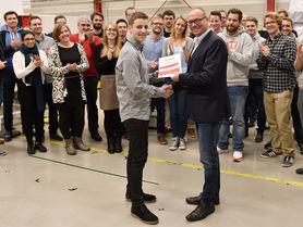 Daniel Kampen wins IPH Future Award