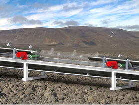 Decentralized control of belt conveyor systems