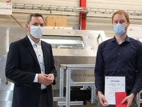 Der IPH-Zukunftspreis 2020 geht an Viktor Schell