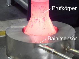 Die Qualität im Blick: Bainitsensor gibt Einblick in Werkstoffumwandlung