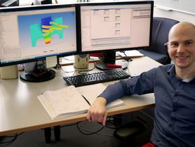 Doctoral candidate from Russia does research at IFUM