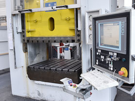 Fast and easy method to determine the efficiency of forming presses