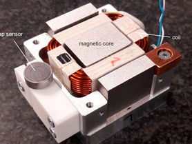 High dynamics and precision through sensitive actuator