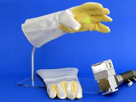 Intelligente Schutzkleidung gegen leistungsstarke Laser