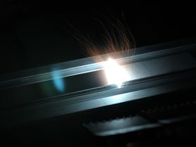 Joining metal and textiles without adhesives