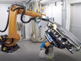 Laser-processed composites on the way to series production