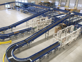 Linear direct drives for belt conveyors
