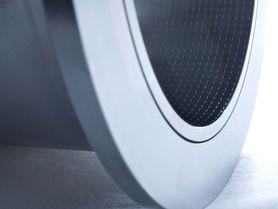 Micro dimples for friction reduction in heavy-duty diesel engines
