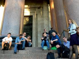 Research meets culture: Students visit St Petersburg