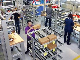 Theorie trifft Praxis in der IFA-Lernfabrik