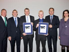 Tobias Krühn gewinnt Wissenschaftspreis Logistik