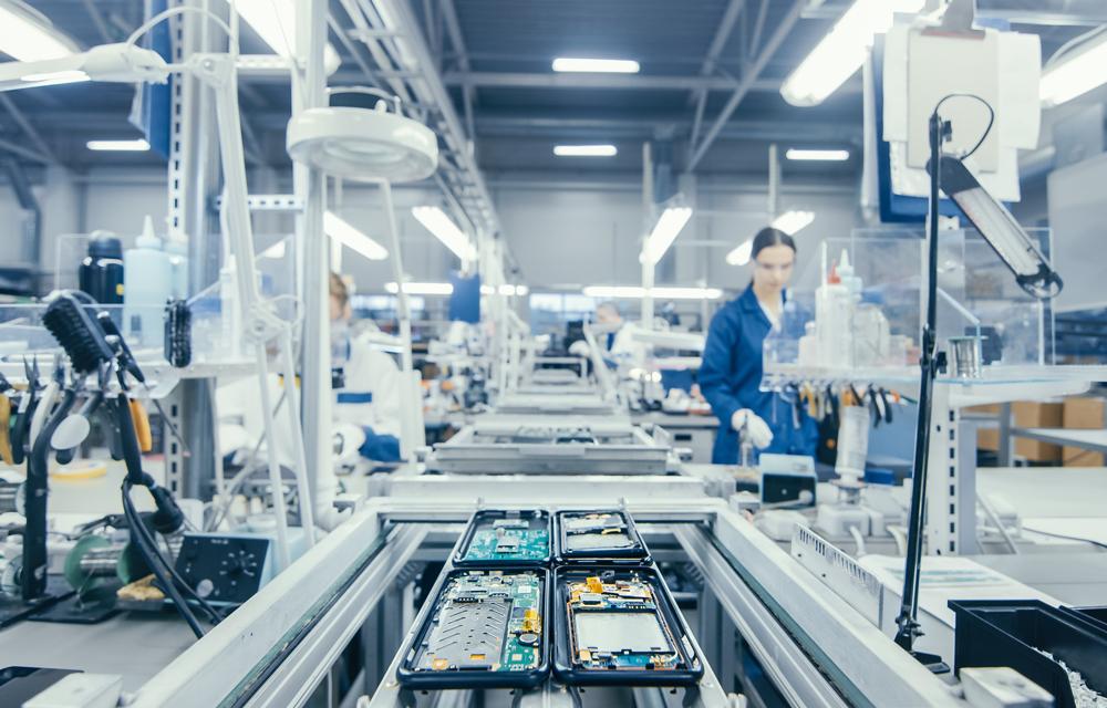 Intelligente Produktionssteuerung