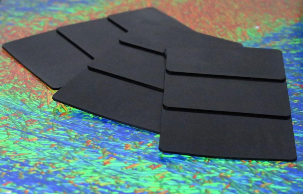 Bild 1: Faserorientierungsanalyse eines glasfaserverstärkten Kunststoffbauteils. (Foto: IKK, Bittner)